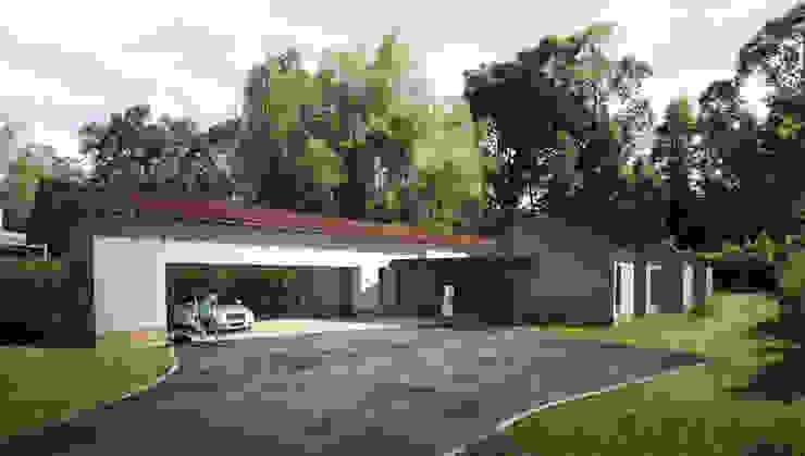 Render Casa SP de DOS Arquitectos