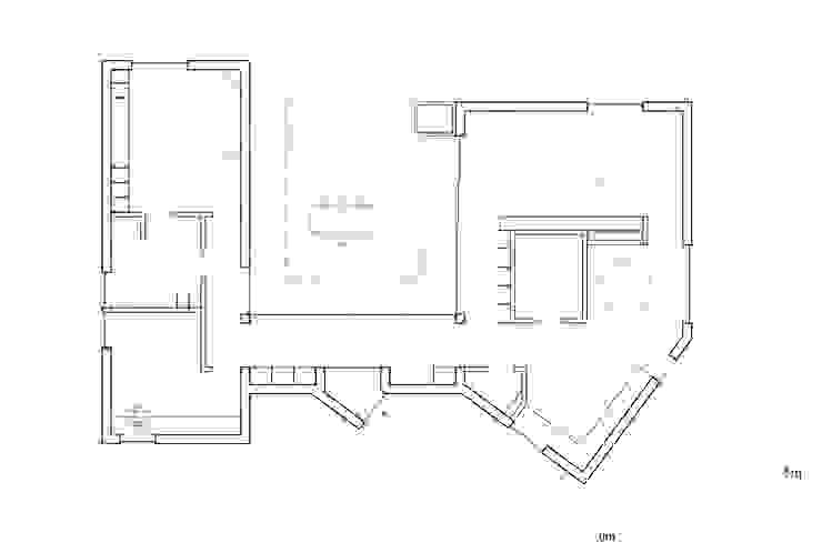 Plattegrond Patio House van Kevin Veenhuizen Architects