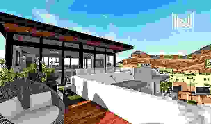 根據 MOBAH Arquitectura 現代風