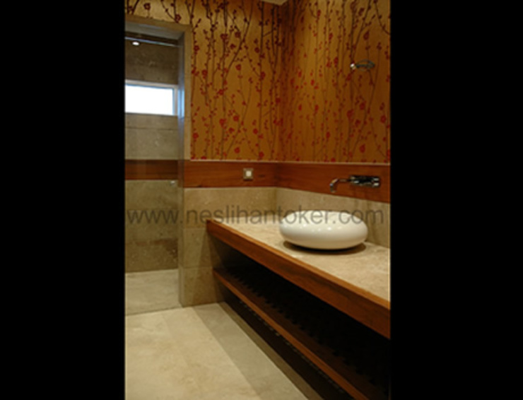 İç Mimar Neslihan Toker – Genel Banyo: modern tarz , Modern