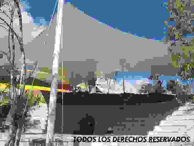 Velaria en Teatro Comitan, Chiapas de TENSO DISEÑOS MX Moderno