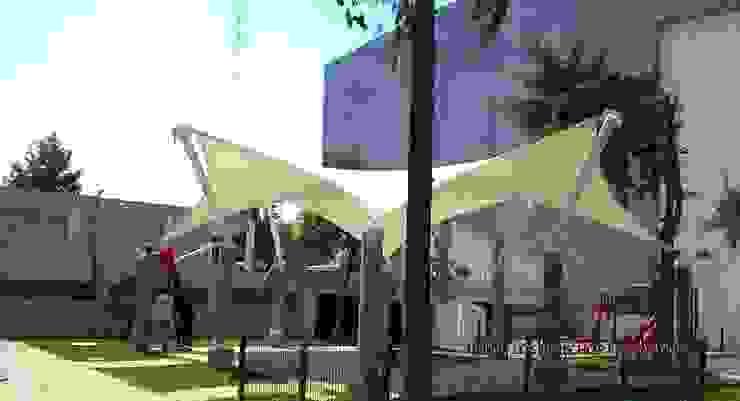 Velaria en Delegación Atzcapotzalco de TENSO DISEÑOS MX Moderno