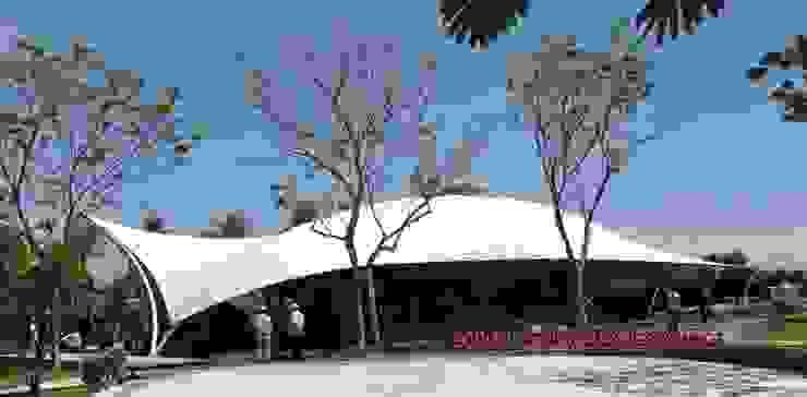 Area de ADN en Jardines de Mexico, Morelos Espacios comerciales de estilo moderno de TENSO DISEÑOS MX Moderno