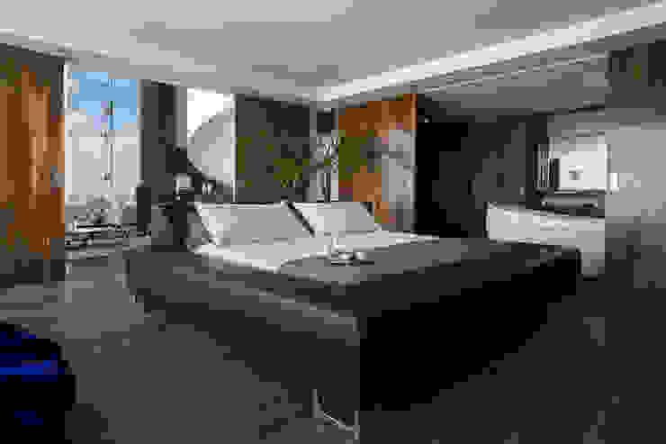 Recámara principal Dormitorios modernos de M+M INTERIORISMO Moderno