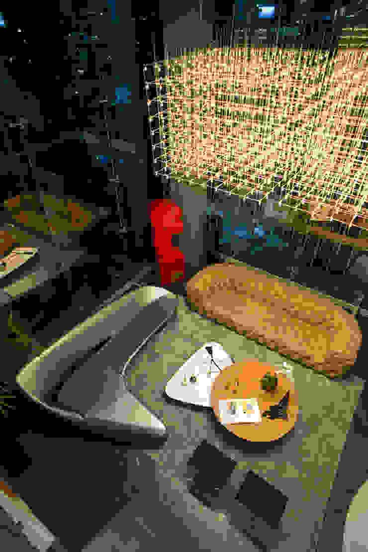 Sala Salones modernos de M+M INTERIORISMO Moderno