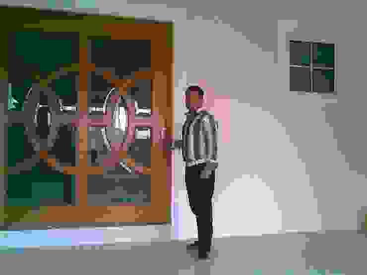 casa F8 de SG Huerta Arquitecto Cancun Clásico Madera Acabado en madera