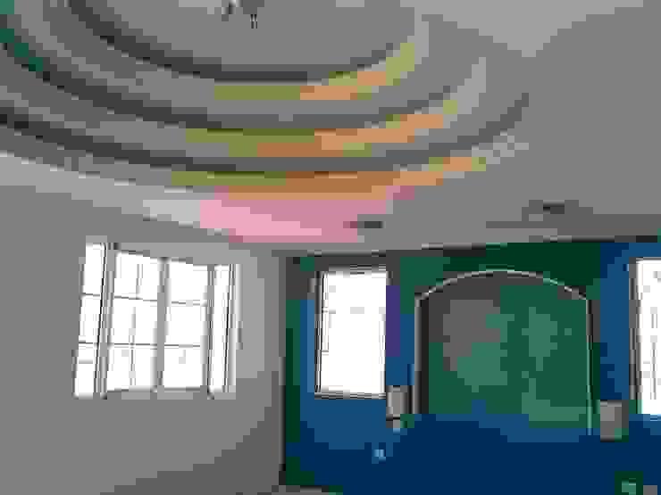 CASA F8 Recámaras eclécticas de SG Huerta Arquitecto Cancun Ecléctico Arenisca