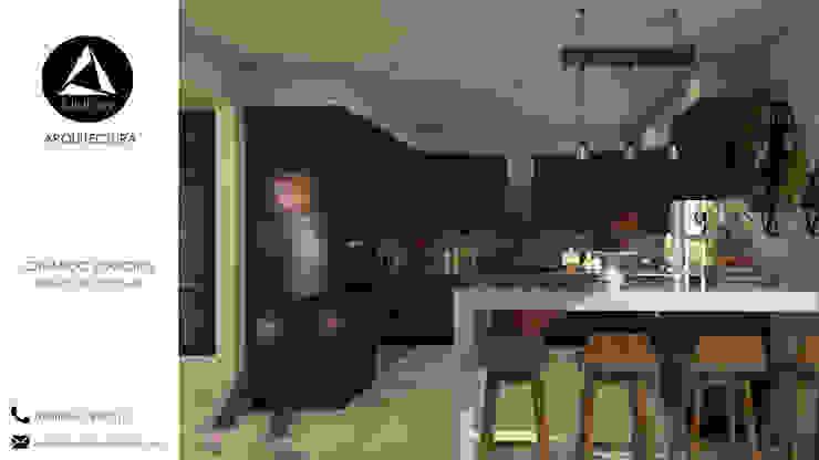 Diseño de Cocinas de Union Arquitectura Moderno Derivados de madera Transparente
