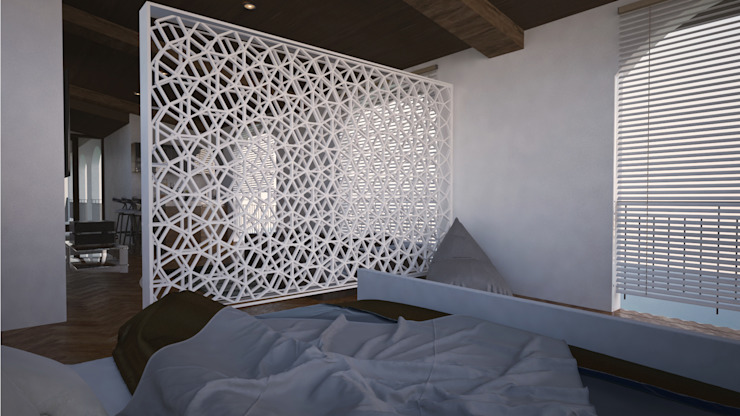 Recamara Dormitorios rurales de V Arquitectura Rural