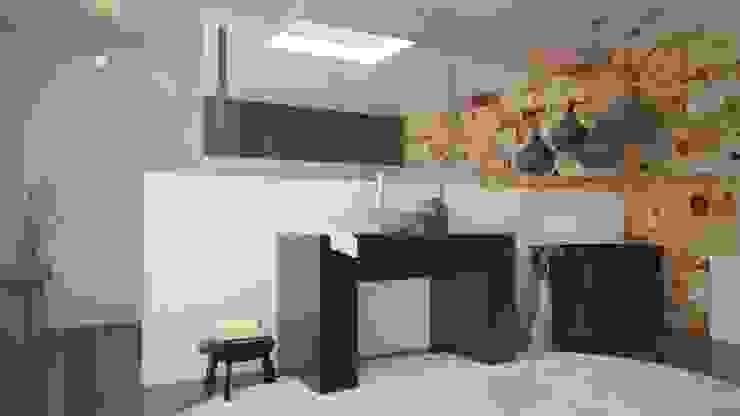 Baño Baños modernos de V Arquitectura Moderno