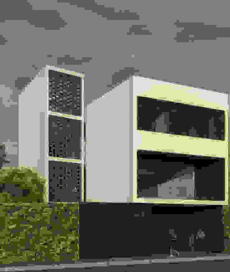 Minimalist houses by POMAC Arquitectos Minimalist