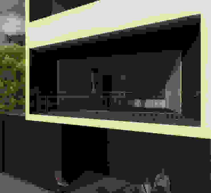 Minimalist house by POMAC Arquitectos Minimalist