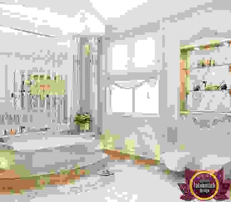Bathroom design of Katrina Antonovich Classic style bathroom by Luxury Antonovich Design Classic