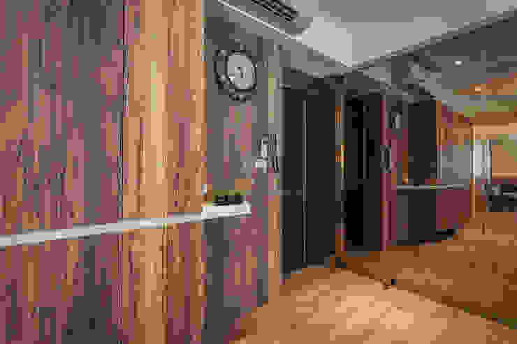 溫.簡.福 斯堪的納維亞風格的走廊,走廊和樓梯 根據 祥祥設計有限公司 北歐風