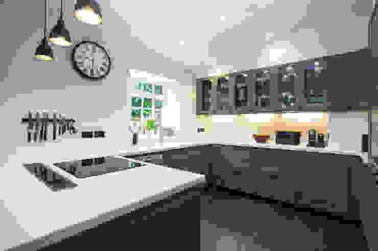 Beyaz Corian Mutfak Tezgahı KREA Granit- Mutfak Banyo Tezgahları KitchenBench tops White
