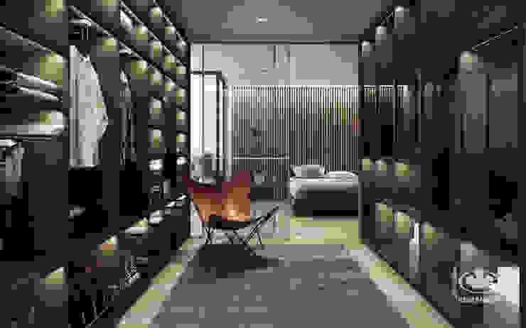 Modern dressing room by Komandor - Wnętrza z charakterem Modern Chipboard
