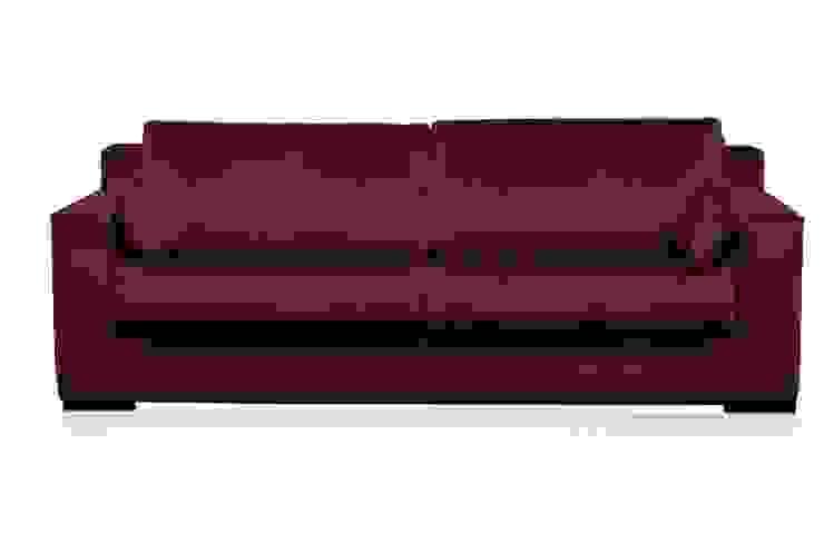 Josua, Samt Sofa 4 Sitzer Moderne Wohnzimmer von MATZ-MÖBEL Modern