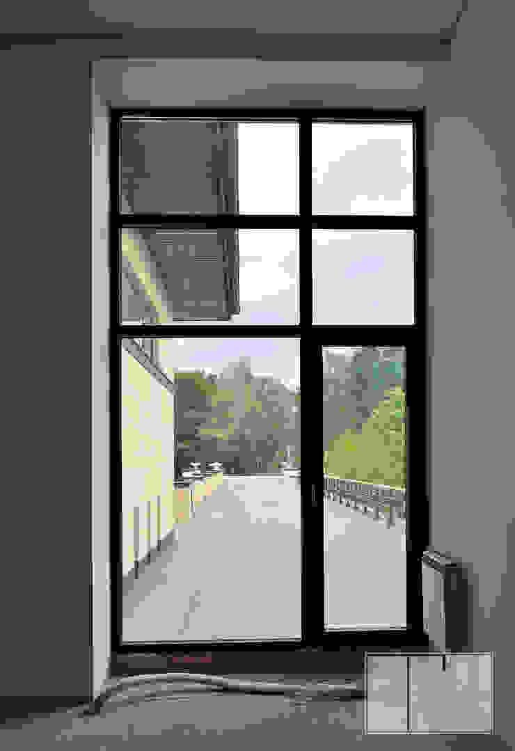 Minimalist study/office by Архитектурная Мастерская Георгия Пряничникова Minimalist