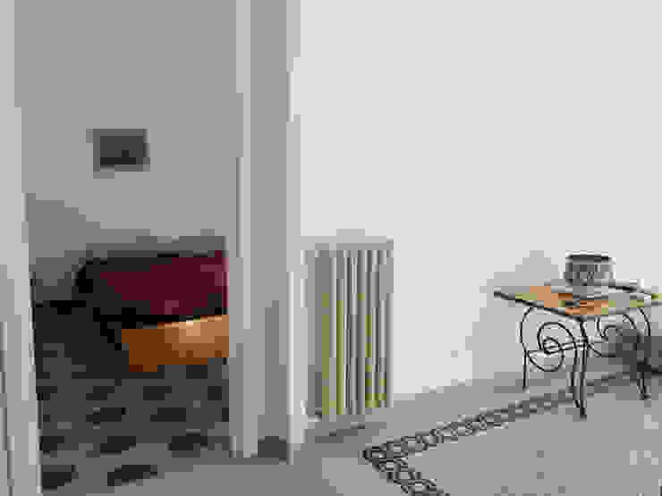 ArchEnjoy Studio Scandinavian style corridor, hallway& stairs Granite Beige
