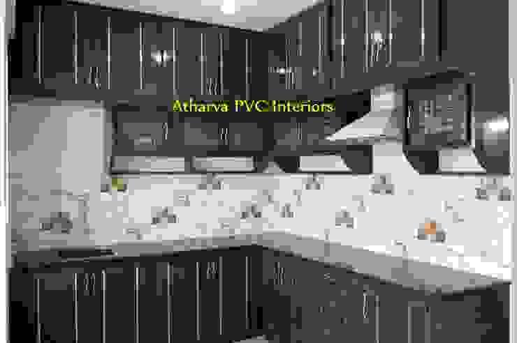 PVC Modular Kitchen:  Kitchen by Atharva PVC Interiors