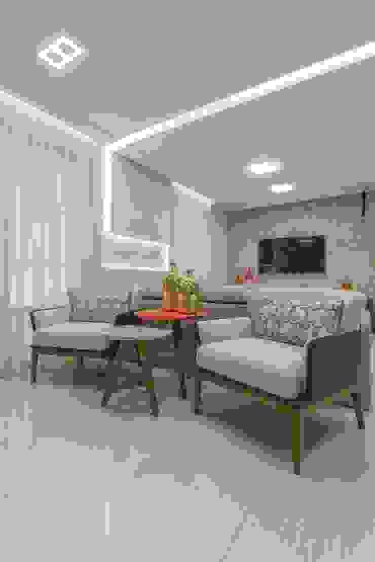 Salones de estilo moderno de Silvana Borzi Design Moderno