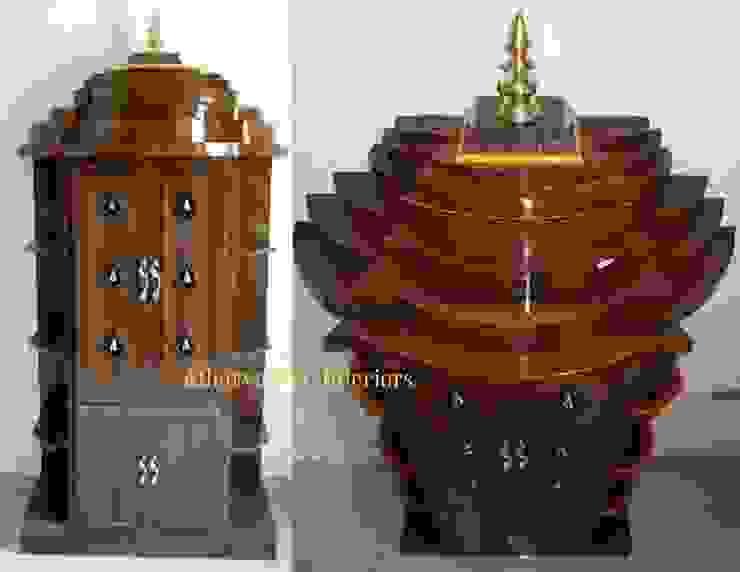 PVC Pooja Room: modern  by Atharva PVC Interiors,Modern Plastic