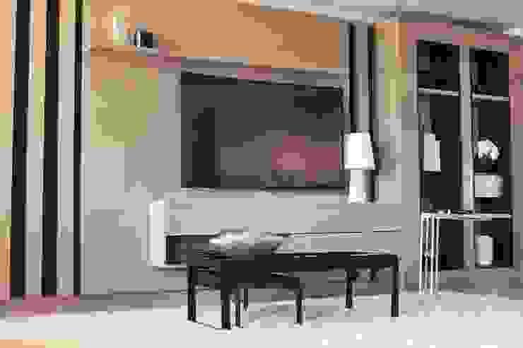 Vivienda PG, Neuquén Salas multimedia modernas de ARKIZA Moderno
