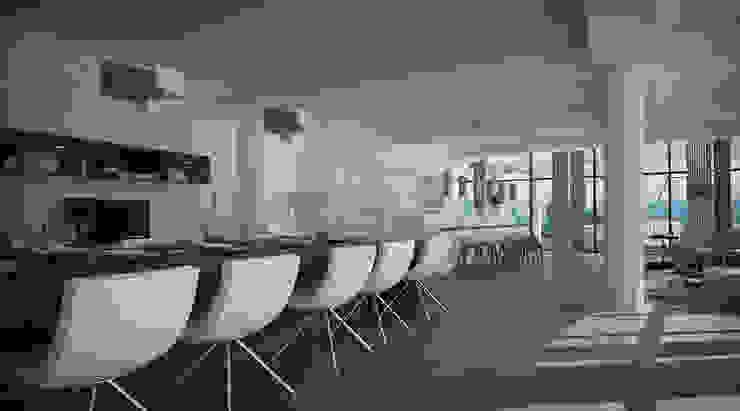 Comedor Comedores de estilo moderno de Vivian Dembo Arquitectura Moderno