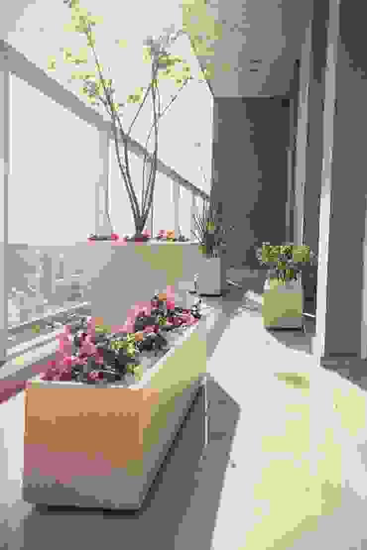 Vivienda PG, Neuquén Balcones y terrazas modernos: Ideas, imágenes y decoración de ARKIZA Moderno