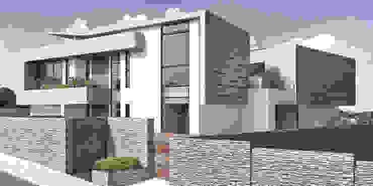 Casa 17 Casas modernas de Vivian Dembo Arquitectura Moderno Concreto