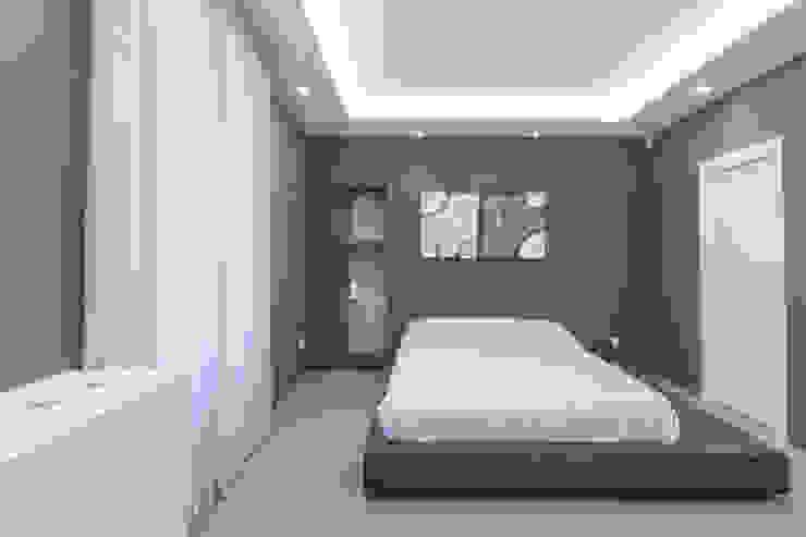 camera da letto Pareti & Pavimenti in stile moderno di Resin srl Moderno