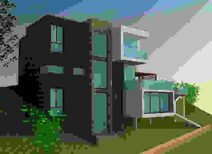 H2H arquitectos Moderne huizen
