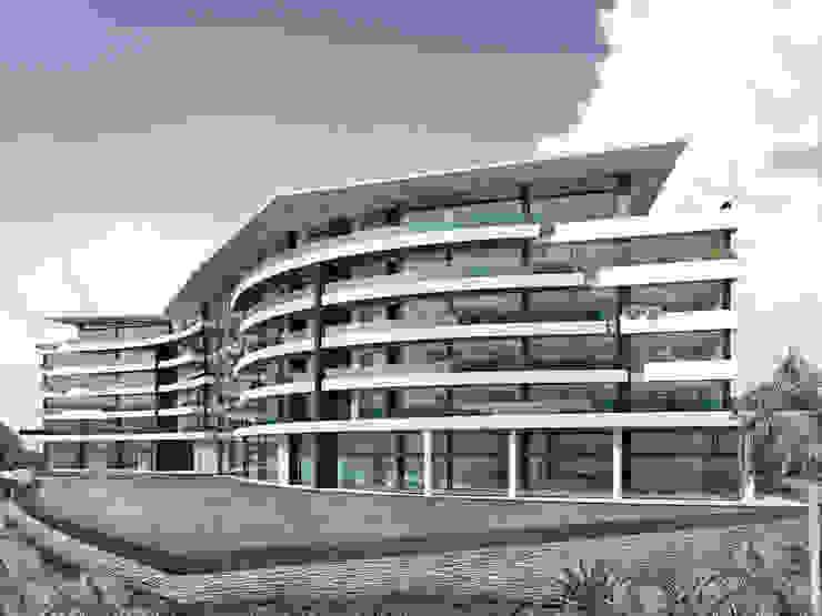 Lomasola Vivian Dembo Arquitectura Casas modernas Concreto Blanco