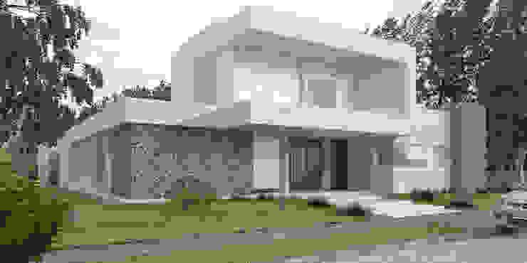 Vivienda LL - Manzanar Millenium, Cipolletti, Río Negro Casas modernas: Ideas, imágenes y decoración de ARKIZA Moderno