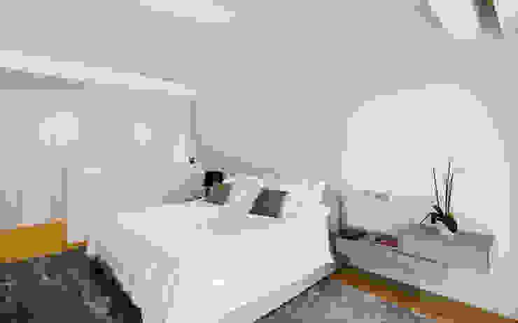 Dormitorio principal Dormitorios de estilo moderno de DECONS GKAO S.L. Moderno Madera Acabado en madera