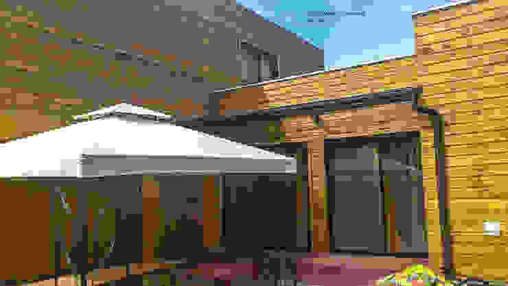 Casa Fuentes. Constitución. Chile Casas estilo moderno: ideas, arquitectura e imágenes de CM Arquitecto Moderno Madera Acabado en madera