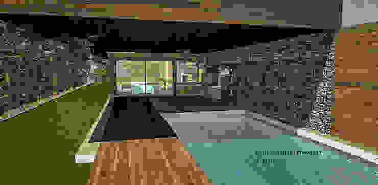 Casa Blanco. Constitución. Chile Casas estilo moderno: ideas, arquitectura e imágenes de CM Arquitecto Moderno