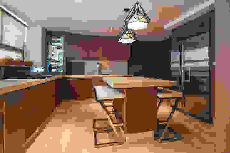 LAS OLAS Cocinas modernas de Art.chitecture, Taller de Arquitectura e Interiorismo 📍 Cancún, México. Moderno