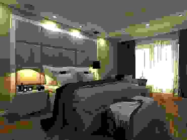 Dormitorios de estilo escandinavo de AM Design Escandinavo