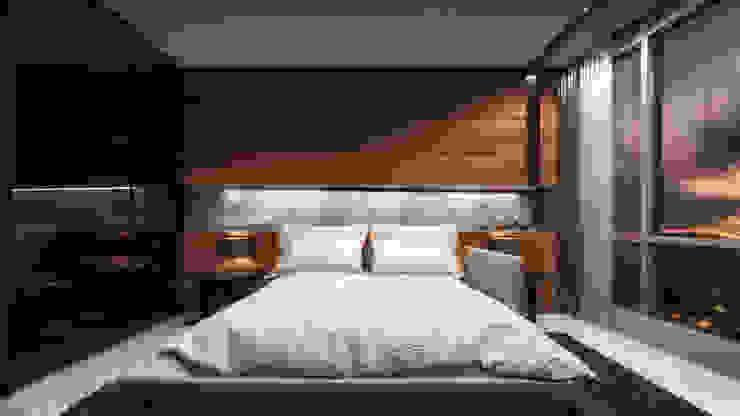ST REGIS Dormitorios modernos de Art.chitecture, Taller de Arquitectura e Interiorismo 📍 Cancún, México. Moderno