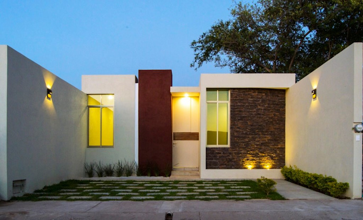Houses by MOVE Arquitectos, Modern
