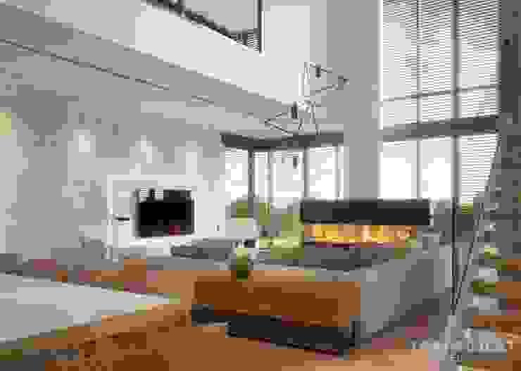 Modern living room by LK&Projekt GmbH Modern