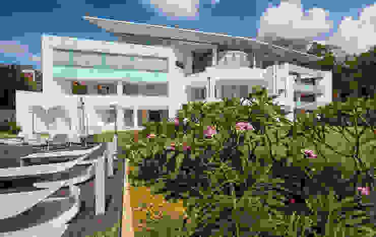 Vivian Dembo Arquitectura Modern Houses Concrete White