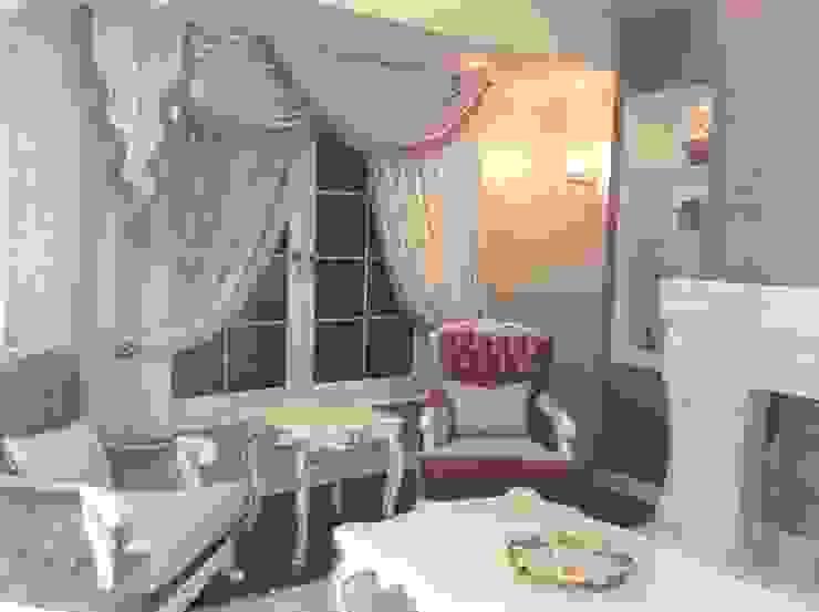 VİLLA K Klasik Oturma Odası Attelia Tasarim Klasik