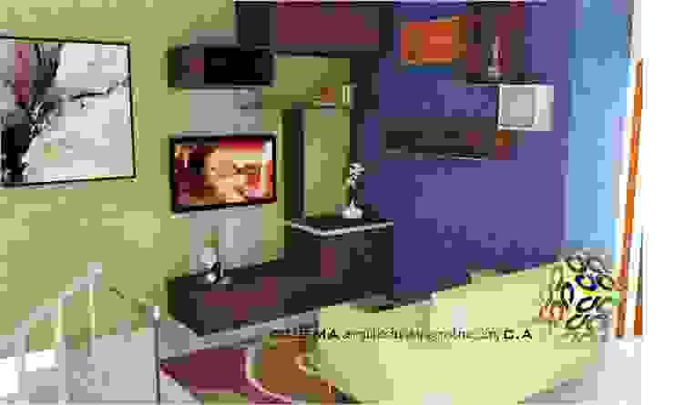 COCINA de ESTUDIO DE ARQUITECTURA C.A Moderno