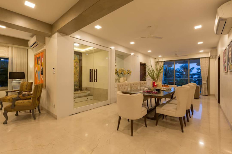 Asian style dining room by homify Asian
