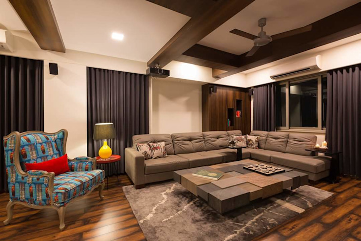 Asian style media room by homify Asian