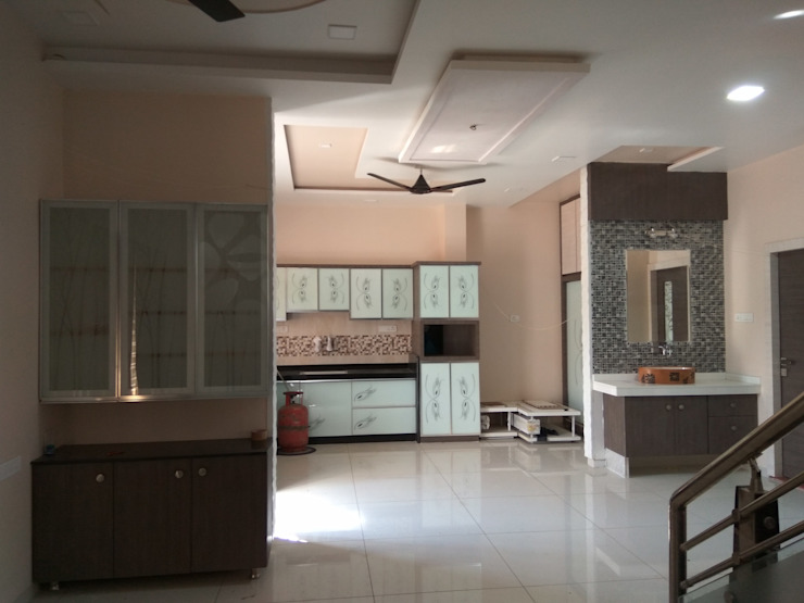 Proposed Interior Of Bungalow. Modern living room by KANAKIA INTERIOR AND CONSULTANCY Modern