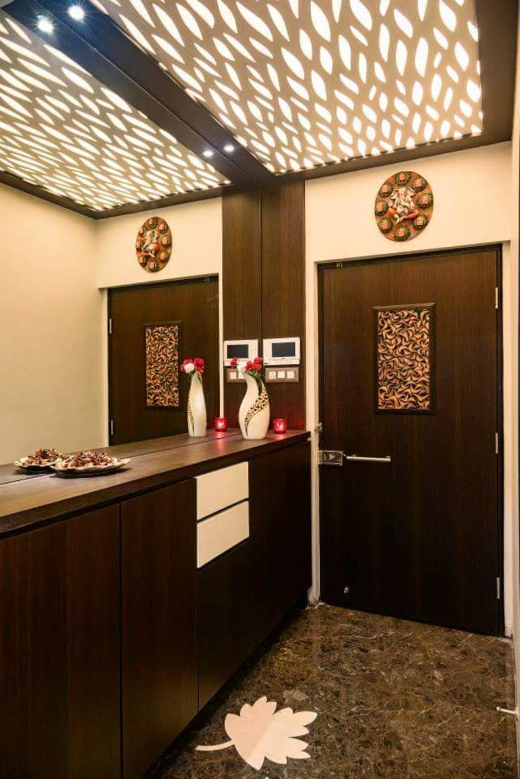 Proposed Interior Of 3BHK Flat Classic style windows & doors by KANAKIA INTERIOR AND CONSULTANCY Classic