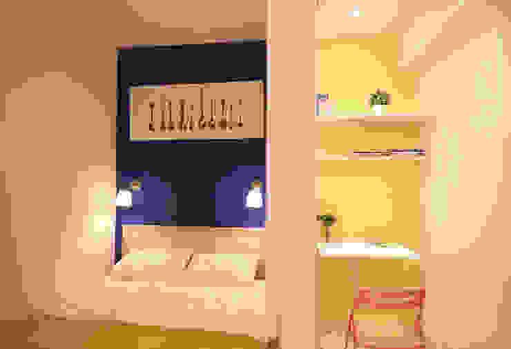 Apartment Renovation Minimalist bedroom by Studio Sohaib Minimalist